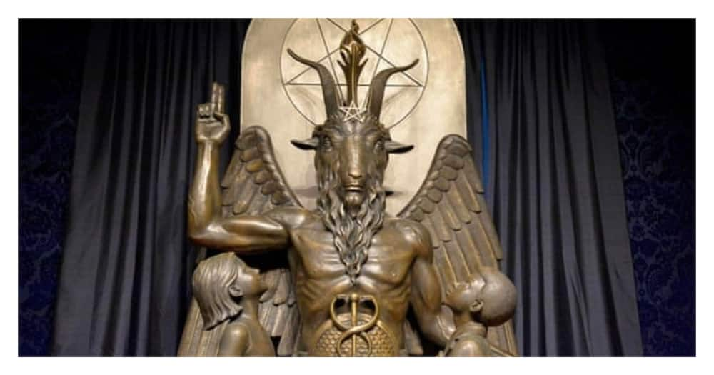 Satanists vow to cast spell on whoever burned down their house