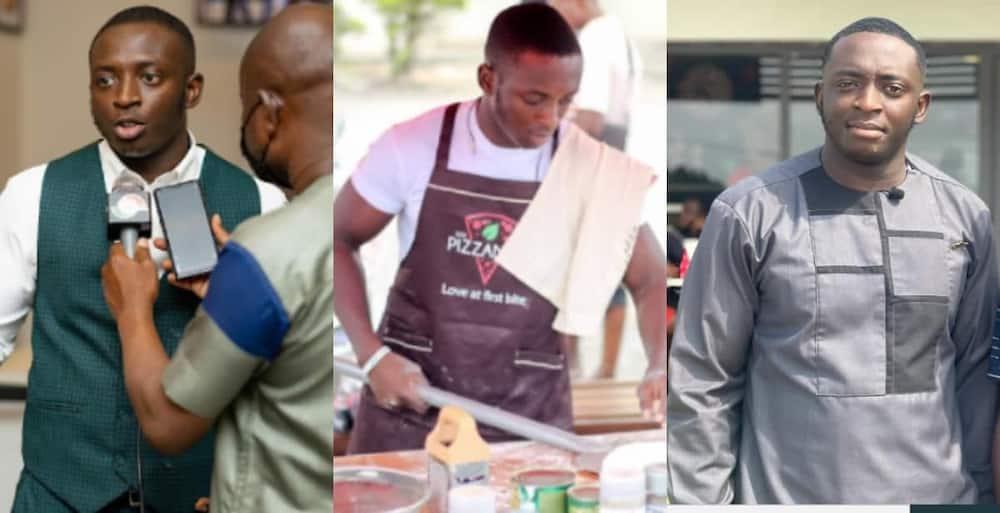 Nana Boakye 24-years-old CEO of Pizzaman in Kumasi with 120 Employees