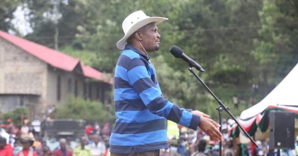 Moses Kuria ateta kuhusu kikao cha viongozi Naivasha, asema wandani wa DP wamewekwa nje