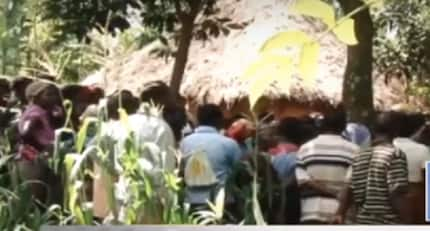 Kisii man abandons his two children in forest