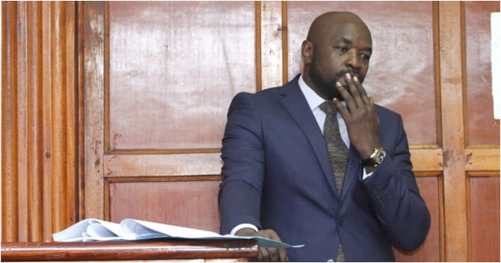 Kenyans share hilarious reactions after Cliff Ombeta claimed Echesa didn't slap IEBC official