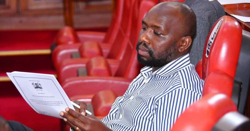 """Murkomen suggests Kalonzo took himself to DCI because he feels guilty: """"Dry cleaning"""""""