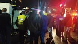 Ajali Thika Road: Lori Lapoteza Mwelekeo na Kugonga Polisi Kwenye Kizuizi