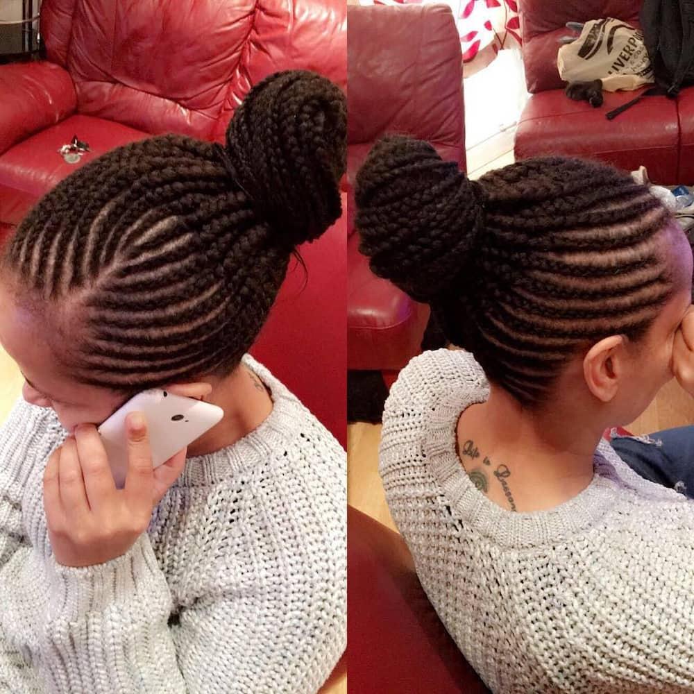 25 latest Ghana weaving shuku hairstyles in 2019