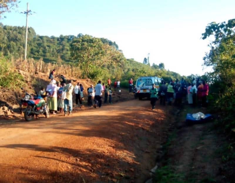 """Kakamega family claims corpse """"refused"""" to be taken to mortuary, 4 cars stalled"""
