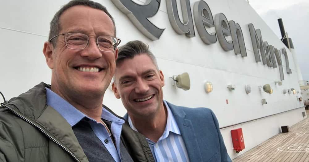 CNN anchor Richard Quest marries longtime male lover