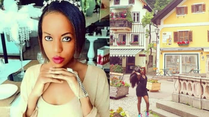 Former TV personality Elizabeth Irungu showcases her exotic lifestyle in Austria