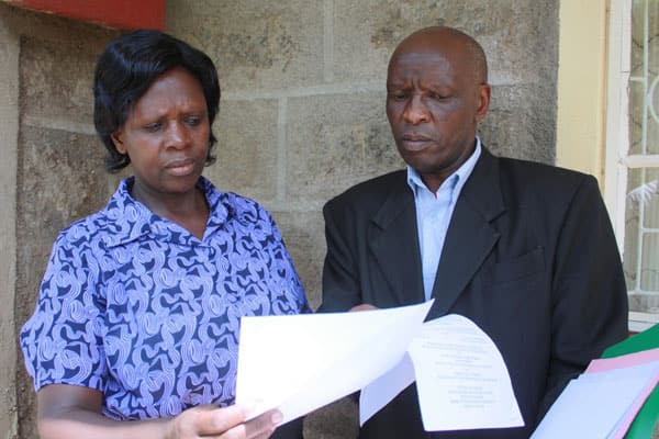 Man seeks DPP, DCI help, claims the late George Saitoti's son Zachary Musengi is his offspring