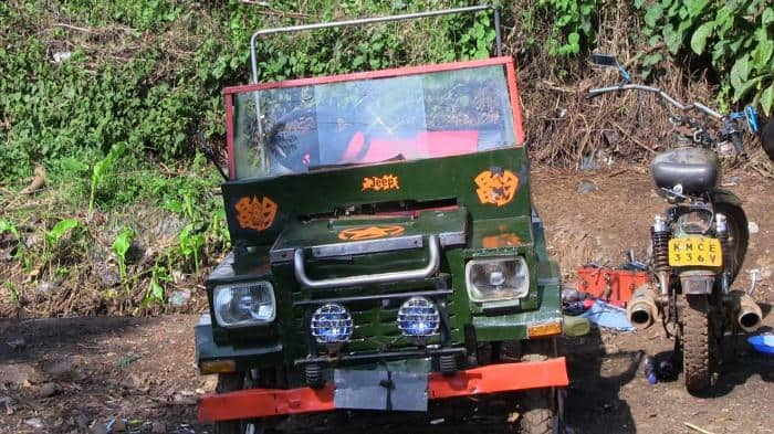 Class 8 drop out builds KSh 300,000 car from scrap metal