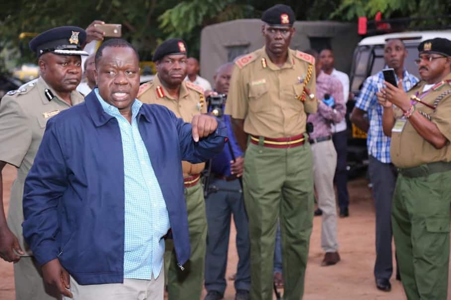4 times Interior CS Matiang'i has proved he means business and nothing stops him