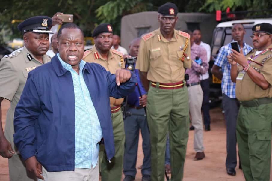 Orodha ya watu 9 ambao Matiang'i amesema wanafadhaili ugaidi