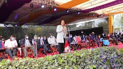"""Anne Waiguru Assures Artists of Personal, County Support: """"Your Songs Helps Us Manage Pressure"""