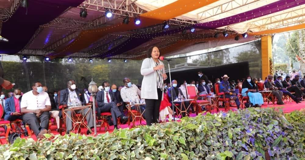 Kirinyaga governor Anne Waiguru . Photo: Anne Waiguru .