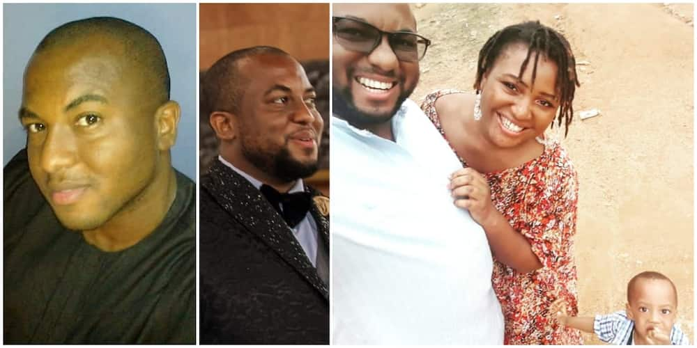 Love Wins: Man Shares Cute Photos of how Love Journey with Wife Began