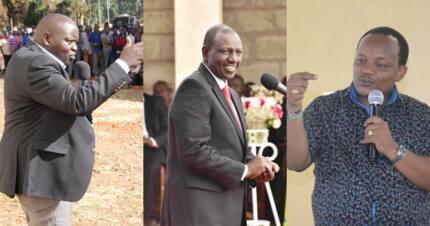 Heated exchange erupts between Nyeri MP Ngunjiri, Nandi senator over DP Ruto's 2022 bid