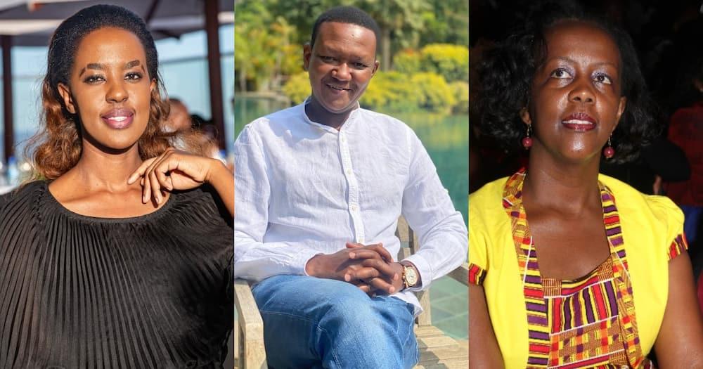 Lillian Nganga, Alfred Mutua and Josephine Thitu.