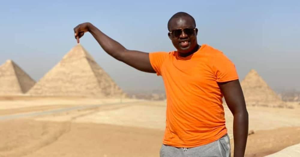 David Osiany gets king-like welcome in friend's Abu Dhabi home.