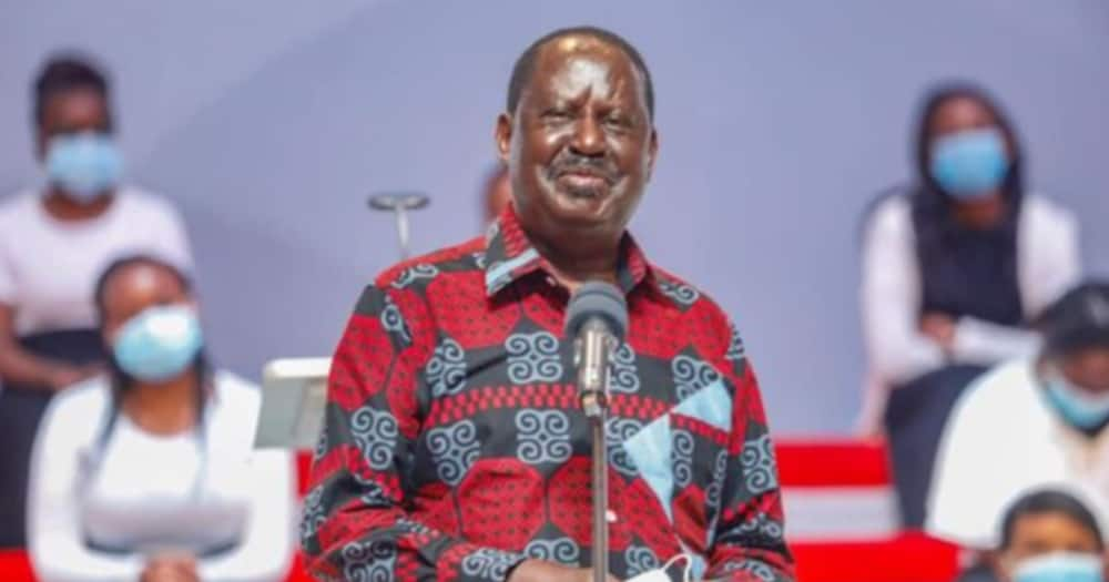 Raila said he would bank on voters to elect him.
