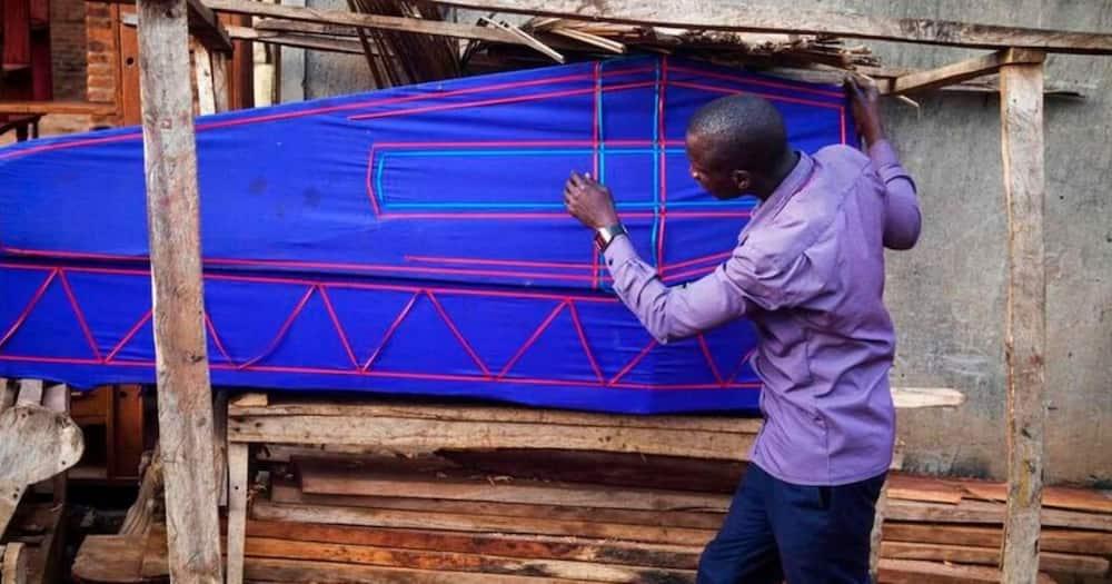 Teacher Livingstone Musaala. Photo: the Daily Nation.