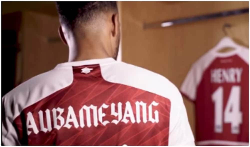 Arsenal fans fluttered after Aubameyang states he wants to become club legend at Emirates