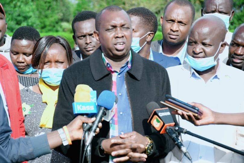 William Ruto ndio chama chetu, Oscar Sudi asema