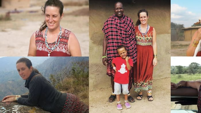 5 Photos of Mzungu Woman Who Gave Up Modern Life to Live with Masai Hubby in Village