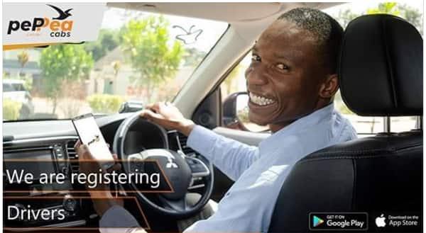 Peppea taxi app