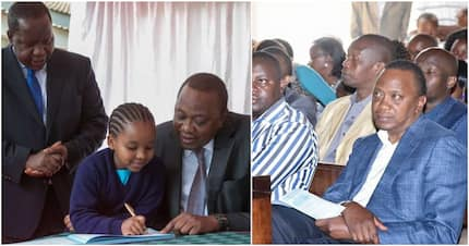 Uhuru calls on the church to help mentor students, says there's a problem in schools