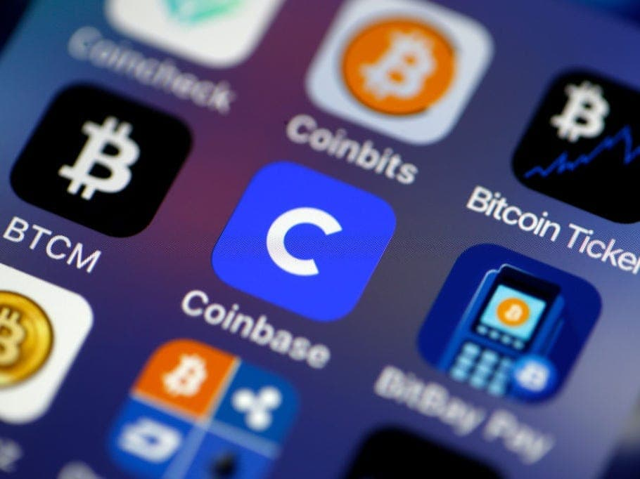 Bitcoin apps in USA