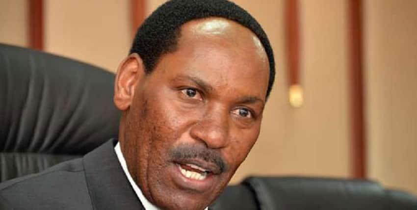 Ezekiel Mutua was recently sent on terminal leave.