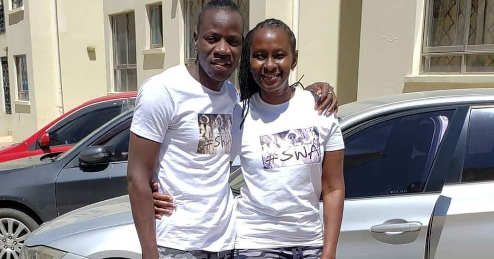 """Guardian Angel refutes claims he married older lover for money: """"You can't buy love and happiness"""""""