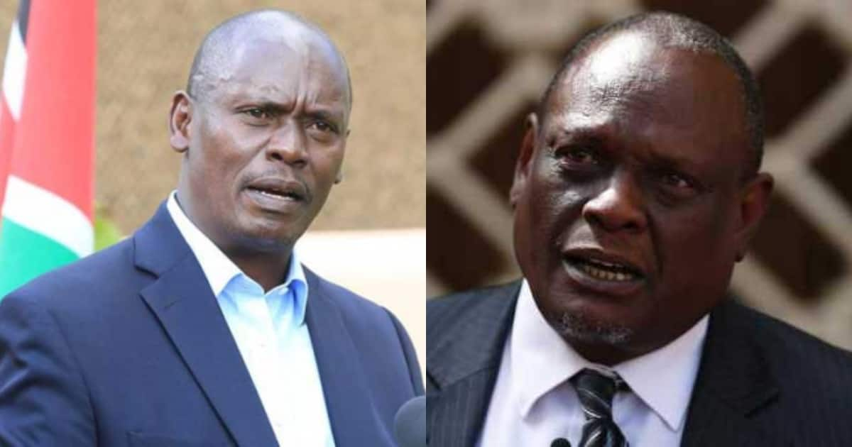 William Kabogo amsihi Uhuru kuzima moto unaowaka Jubilee kuhusu Ruto 2022