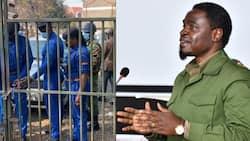 "Video of Police Officer Sawing a Padlock on LSK Headquarters Gate Astounds Kenyans: ""Criminal State"""
