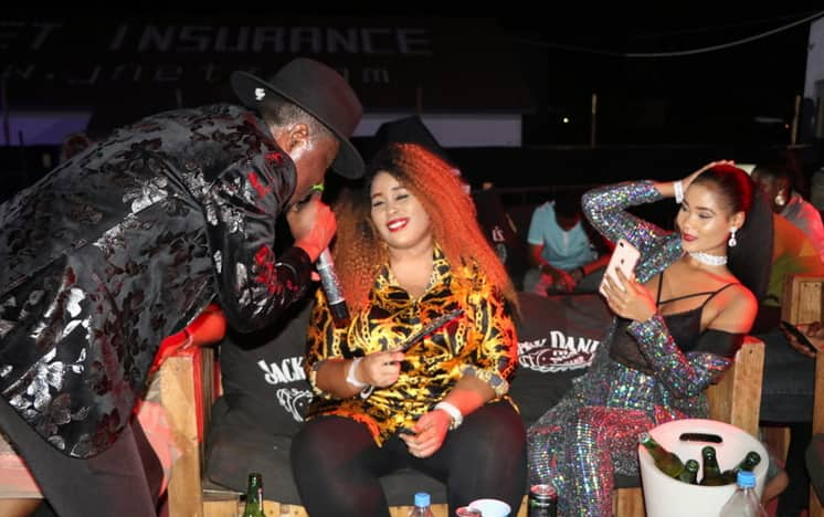 Hamisa Mobetto's mum leaves tongues wagging after partying all night alongside daughter