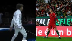 Tokyo Olympics: Mohamed Elsayed CopiesCristiano Ronaldo's Famous Goal Celebration After Win