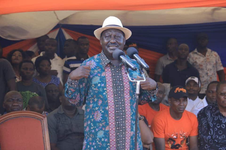 Kuria Amtania Raila, Asema Yuko Tayari Kumsaidia Kutatua Mgogoro Ndani ya ODM
