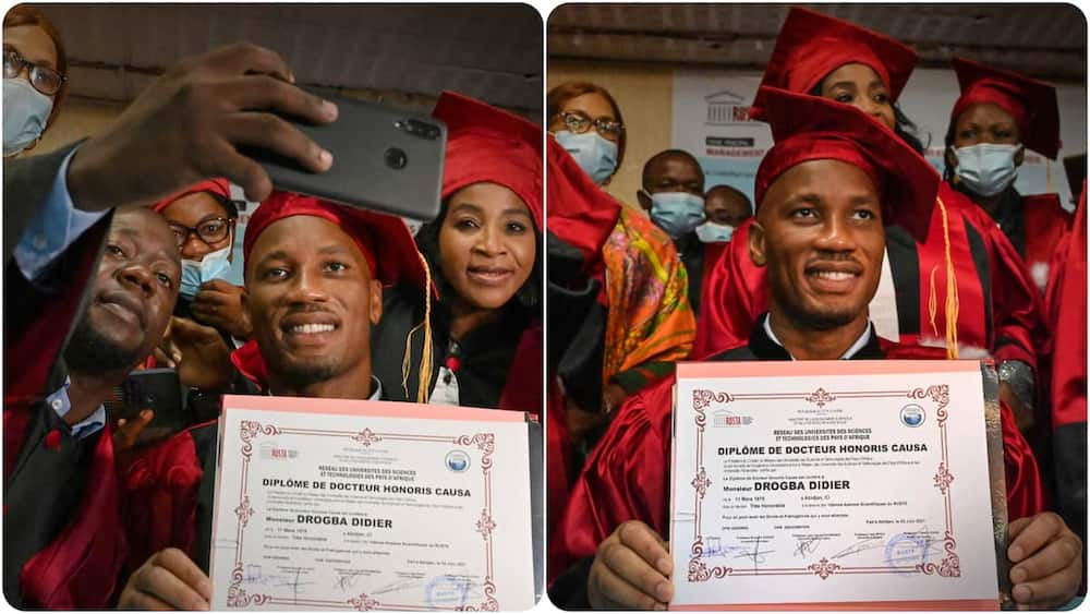 Chelsea legend who helped them win 1st Champions League title bags honourary degree