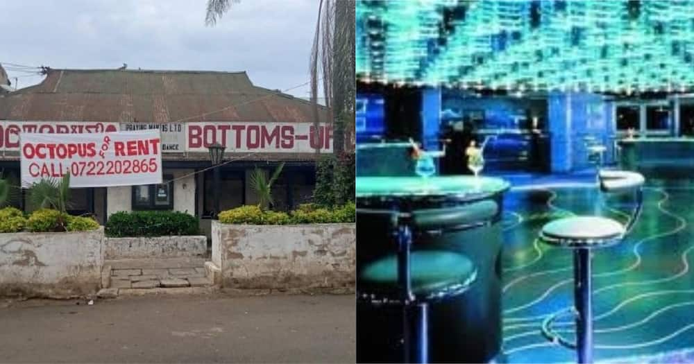 According to the owner, the club was nicknamed Bottoms Up Club because it signified how alcohol and soda bottles turning when drinking.