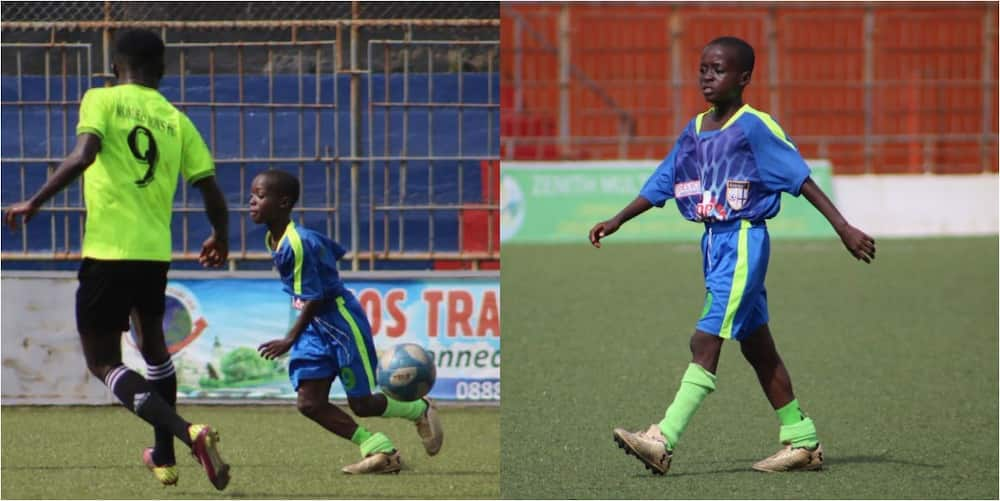 Incredible as 11-year-old features in 4th division in top African country's league