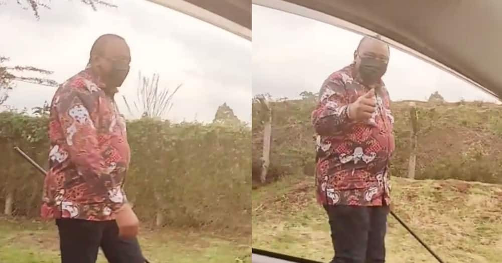 Focus: Kenyans advice Pascal Tokodi on what he should have asked Uhuru after bumping into him