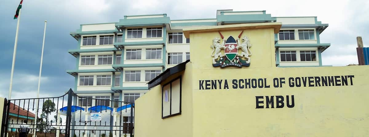 courses offered at kenya school of government