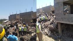 Kisumu: 3 Bodies Retrieved from Rubble after Storey Building Under Construction Crumbles