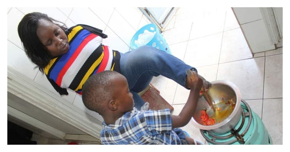 Miriam Wawira: My biggest challenge with parenting is that I can never hold, hug my son
