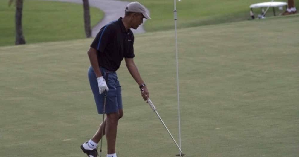 Barack Obama refuses to play in Presidents Cup tournament, insinuates Trump will cheat
