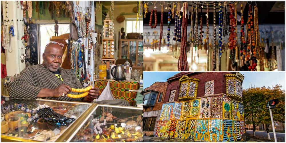 Meet the artist behind America's only museum dedicated to African beads