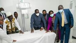 Raila Odinga Donates KSh 10m to Kigumo Hospital after Student's Request