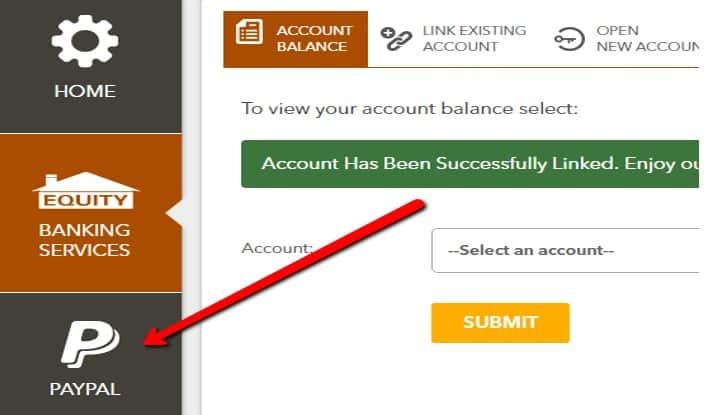 Equity Self Service Portal