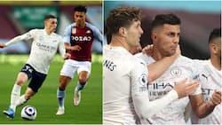 Man City Yapepeta Aston Villa na Kunusia Kutwaa Taji la EPL Mara ya 5