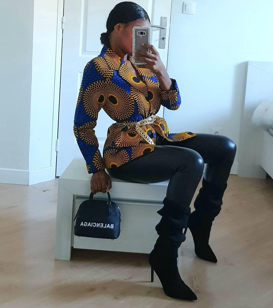Latest kitenge blouses designs 2019