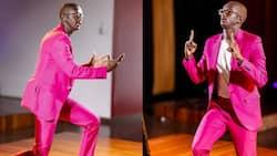 Comedian Njugush Remembers Walking Barefoot in Primary School in Bid to Fit In
